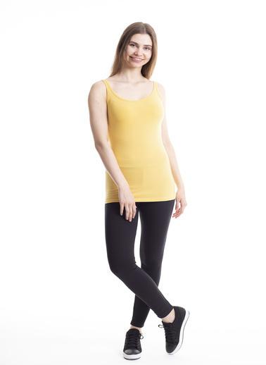 Stamina Kalın Askılı Atlet Sarı